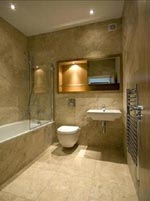 Bathroom Finishing Cream Travertine