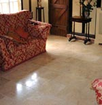 Floor Finishing Travertine